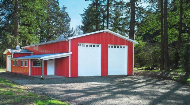 2 car RV garage shop
