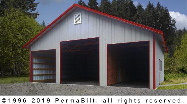 3 Car Metal Garage and RV Storage Sequim