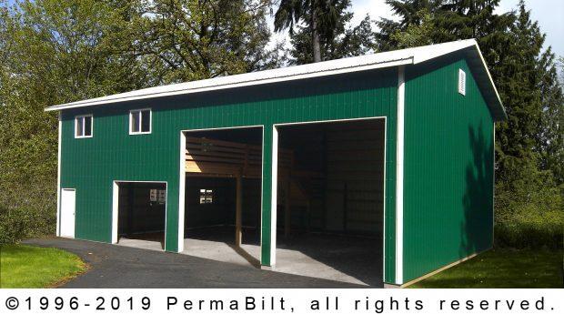 pole building garage