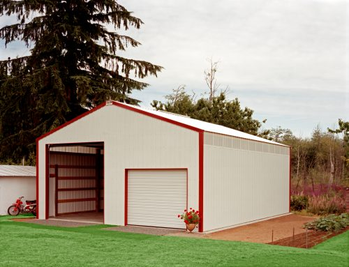 RV Storage Building and Steel Garage