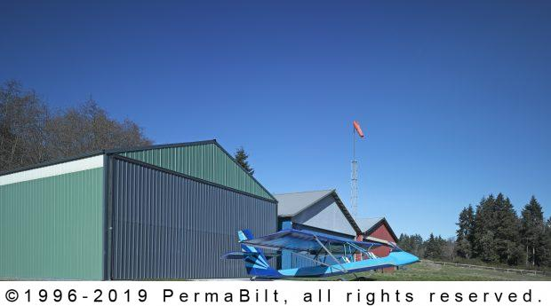 airplane hangar pole building