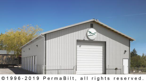 post frame commercial garage