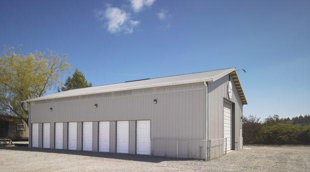 post frame commercial garage