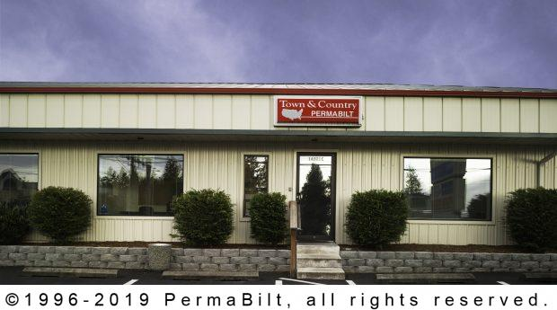 commercial post frame building