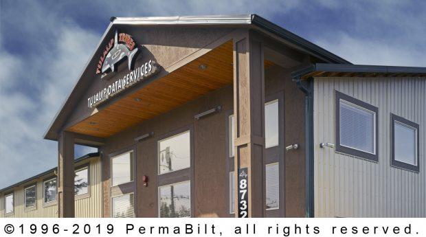 commercial pole building entrance