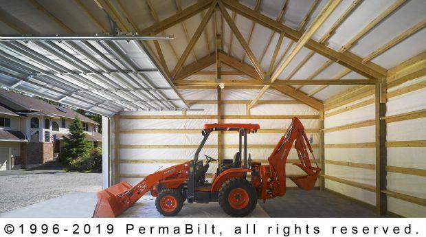 equipment storage garage