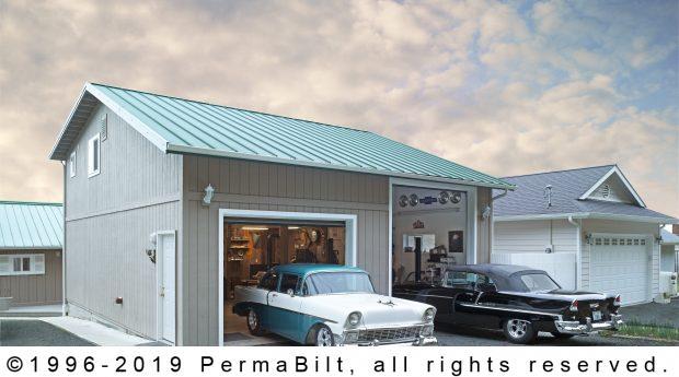 pole building garage shop