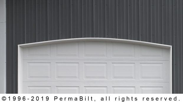 pole building garage door