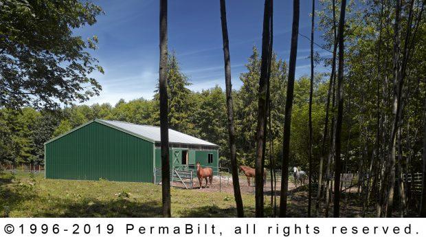 post frame barn