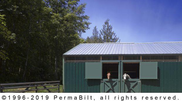 horse barn post frame