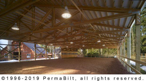 horse arena pole building