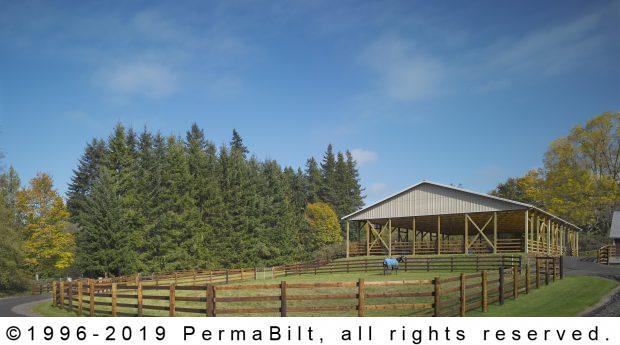 post frame horse arena