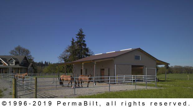 horse barn pole building