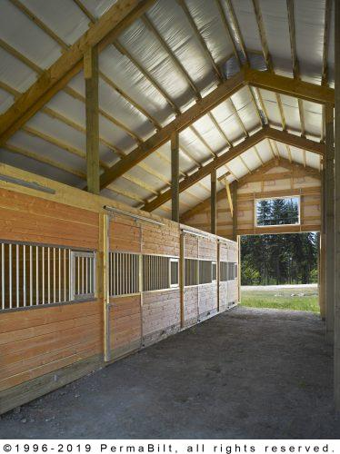 Post Frame Horse Barn - Pole Barn