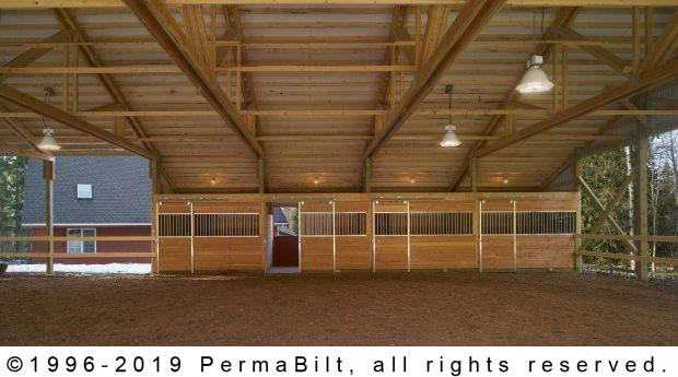 horse arena stalls