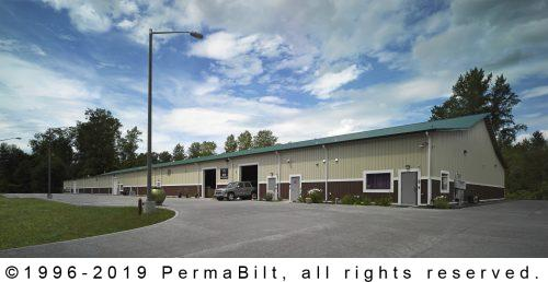 Commercial Steel Building Tulalip WA