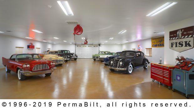pole building car storage