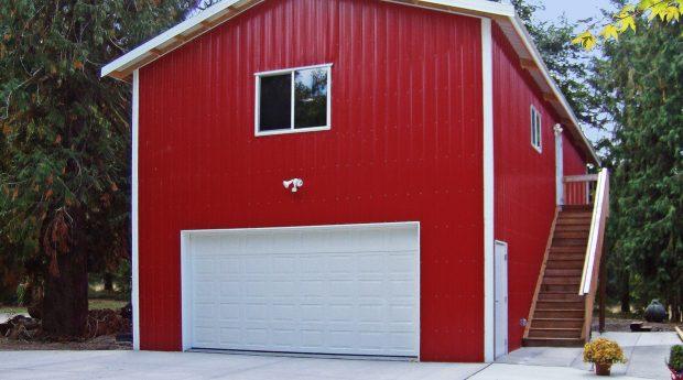 post frame garage shop