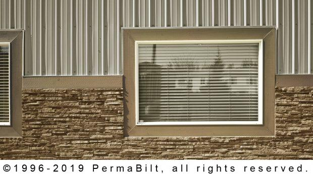commercial pole building window