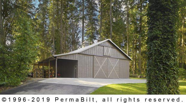 post frame barn and shop