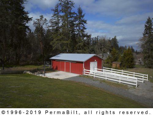 Classic Horse Pole Barn Kit Building